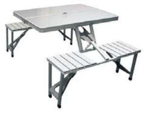 Πτυσσόμενο Τραπέζι Πικ-Νικ TRISTAR ΤΑ-0820