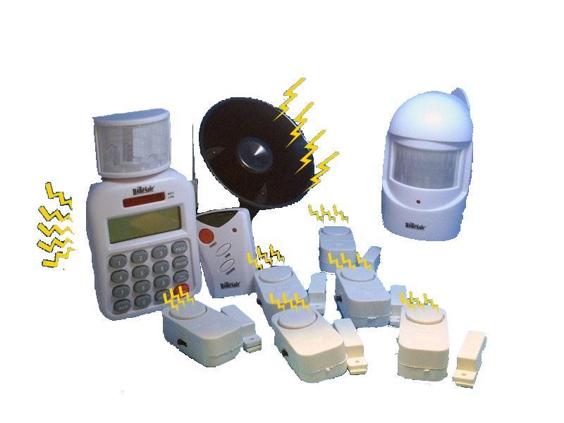 Ασύρματος συναγερμός - τηλεειδοποίηση - σειρήνα & 6 παγίδες alár
