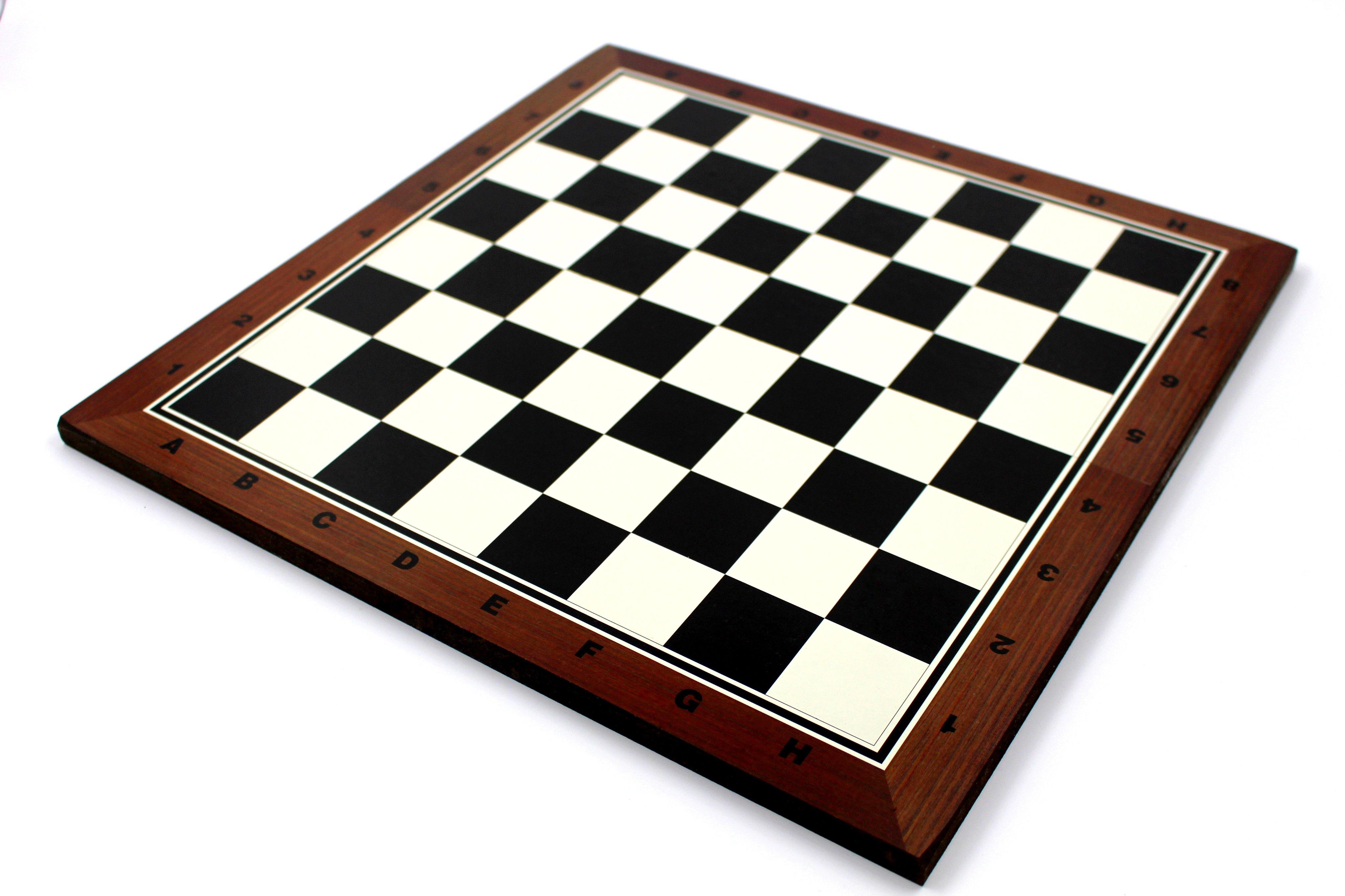 Σκακιέρα από MDF 38x38cm - Σκακιέρα πλατό
