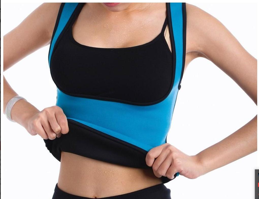 Γυναικείο γιλέκο εφίδρωσης για άσκηση και αδυνάτισμα YC Support Body Fitness Ropa