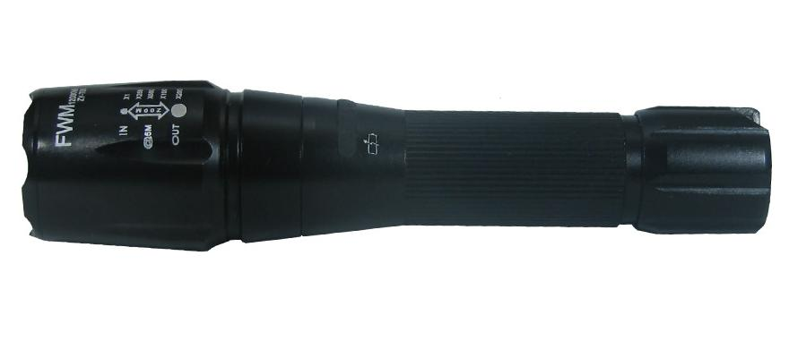 Αδιάβροχος φακός LED CREE 48000 lumens Με επαναφορτιζόμενη μπαταρία και φορτιστή FWM XLM T5