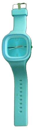 Ρολόι σιλικόνης ηλεκτρονικό γαλάζιο - τιρκουάζ SS.COM