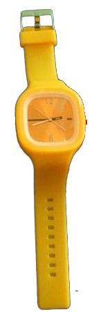 Ρολόι σιλικόνης ηλεκτρονικό Κίτρινο SS.COM
