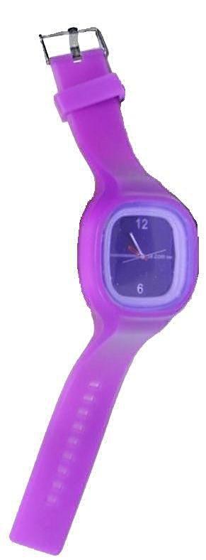 Ρολόι σιλικόνης ηλεκτρονικό μόβ SS.COM