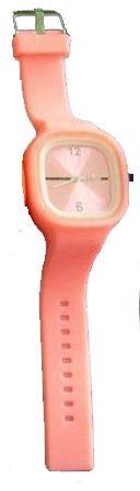 Ρολόι σιλικόνης ηλεκτρονικό Ρόζ SS.COM