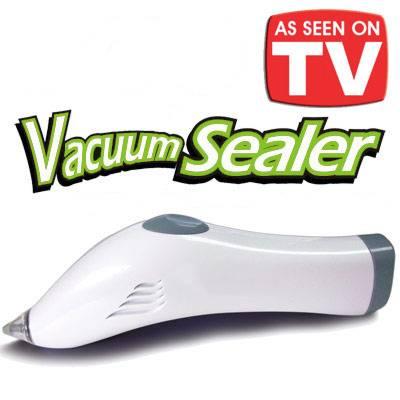 Σετ Vacuum για να Σφραγίζετε Αεροστεγώς Σακούλες με Τρόφιμα Vacu