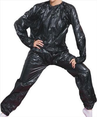Φόρμα Εφίδρωσης - Αδυνατίσματος απο PVC Sauna Suit  MDS 081