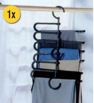 Κρεμάστρα κατάλληλη για παντελόνια και φούστες RUCO V-106