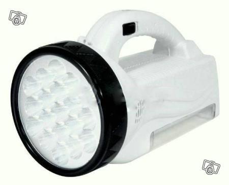 Επαναφορτιζόμενος φακός 2 σε 1 με 47 led super bright 222