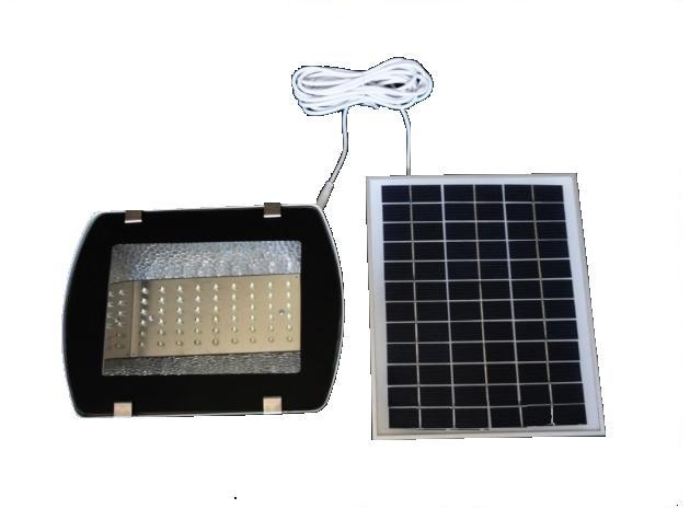 Ηλιακός προβολέας, 54 λευκά led  SOLAR HM 21054