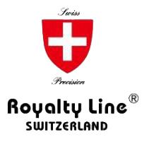 Σετ 5 μαχαιριών από χυτό ατσάλι με μπαλτά & ψαλίδι κουζίνα  Royalty Line SWITZERLAND RL KSS-806