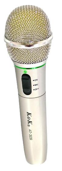 Ασύρματο Επαγγελματικό Μικρόφωνο Χειρός K&K AT-309