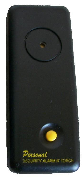 Ατομικός συναγερμός με φακό έντασης 130db & περόνη ενεργοποίησης MR 911
