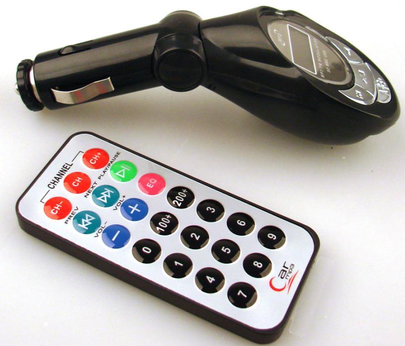 Αναμεταδότης ήχου FM Αυτοκινήτου Car MP3 Player FM Transmitter CM-01