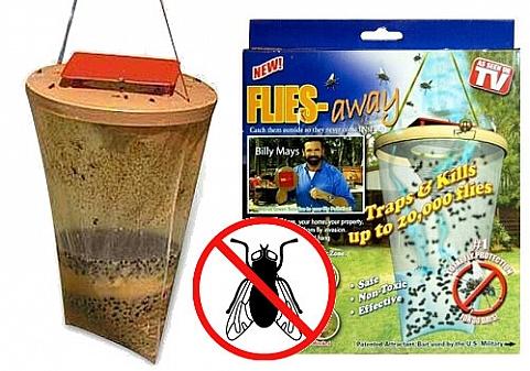 Εντομοπαγίδα φυσική μη τοξική για 20.000 έντομα Flies Away