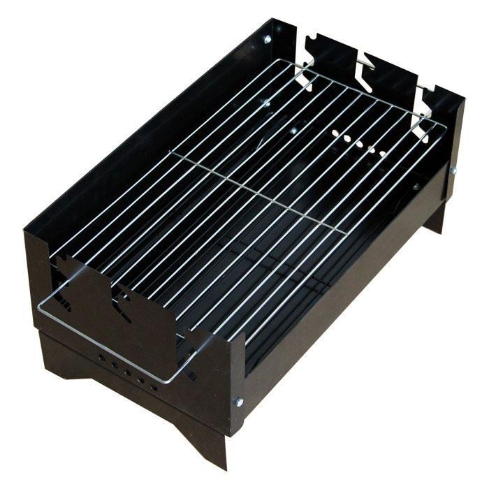 Ψησταριά φορητή κάρβουνου 43x25 cm JIA LI