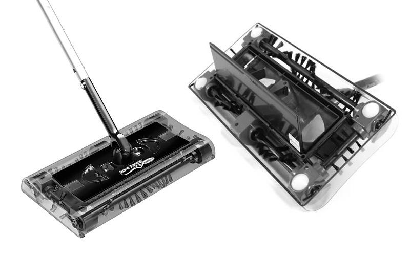Επαναφορτιζόμενη Σκούπα Swivel Sweeper max