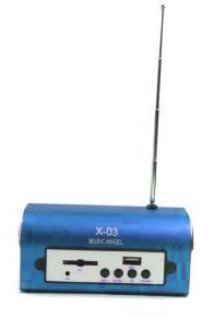 Portable Mini Speaker mp3 player / radio C01524-X-03