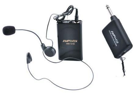 Ασύρματο επαγγελματικό μικρόφωνο Πέτου με υψηλή ποιότητα ήχου WEISRE WM-101A