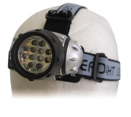Φακός Κεφαλής Outdoor 12 LED Panda