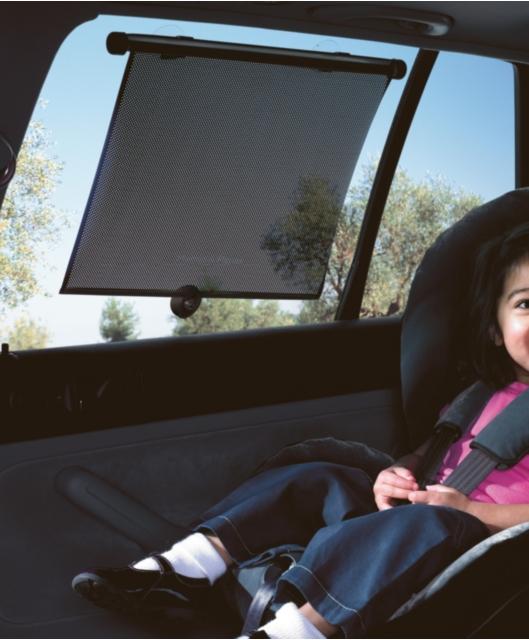Κουρτινάκι Ηλιοπροστασία αυτοκινήτου 125 X 58 cm αναδιπλούμενη  - Retractable Car Curtain Sunshild
