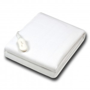 Κουβέρτα λευκή θερμαινόμενη ηλεκτρική μονή 150Χ80 Florina