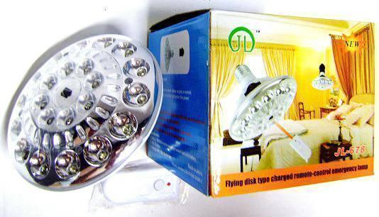 Λάμπα - Φακός Ασφαλείας με τηλεκοντρόλ & 22 φωτάκια led JL-678