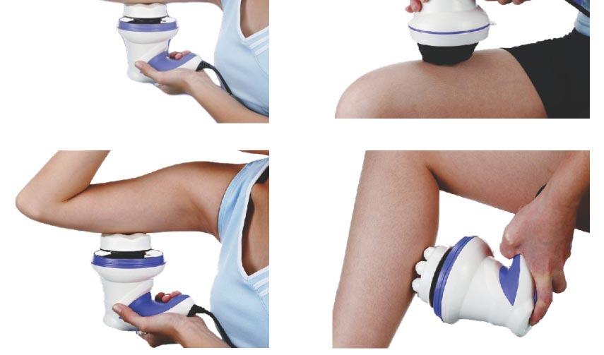 Συσκευή Μασάζ Τόνωσης - Χαλάρωσης - Αδυνατίσματος - Εκγύμνασης για όλο το Σώμα - Massage & Relax Spin Tone