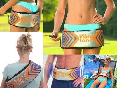 Ζώνη Παθητικής Γυμναστικής και Αδυνατίσματος Vibra tone