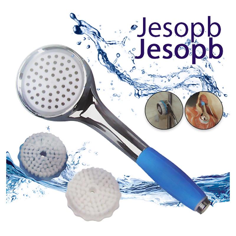 Τηλέφωνο Ντούζ με Ενσωματωμένο Φίλτρο Νερού και Βούρτσες Καθαρισμού - Jesopb