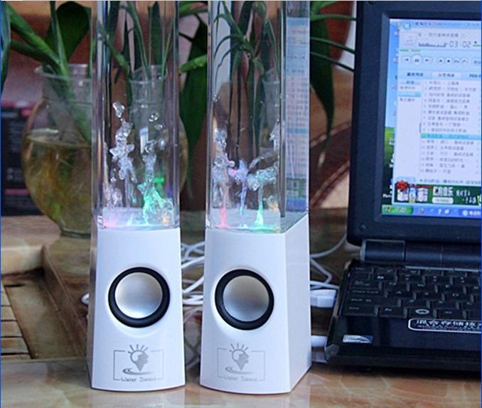 Ηχεία με νερά που χορεύουν Dancing Water Speakers 6W