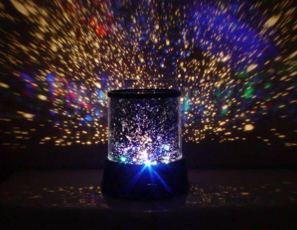 Έναστρος ουρανός Φωτάκι νυκτός Πλανητάριο Star Master LED Light Projector Gadget