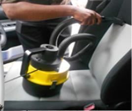 Φορητό Σκουπάκι Αυτοκινήτου 12V για υγρά και στερεά με 4 εξαρτήματα Monlova vacuum cleaner MA-C003