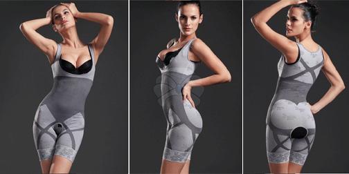 Κορμάκι Κορσές για Επίπεδη Κοιλιά, Ανασηκωμένους Γλουτούς & Στήθος  Bamboo Slim Body