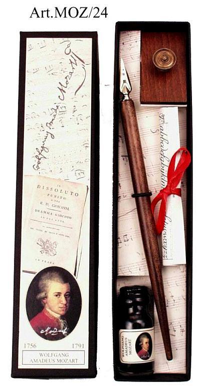 Πένα Κονδυλοφόρος με μελάνι στυλ αντίκα FRANCESCO RUBINATO MOZ/24