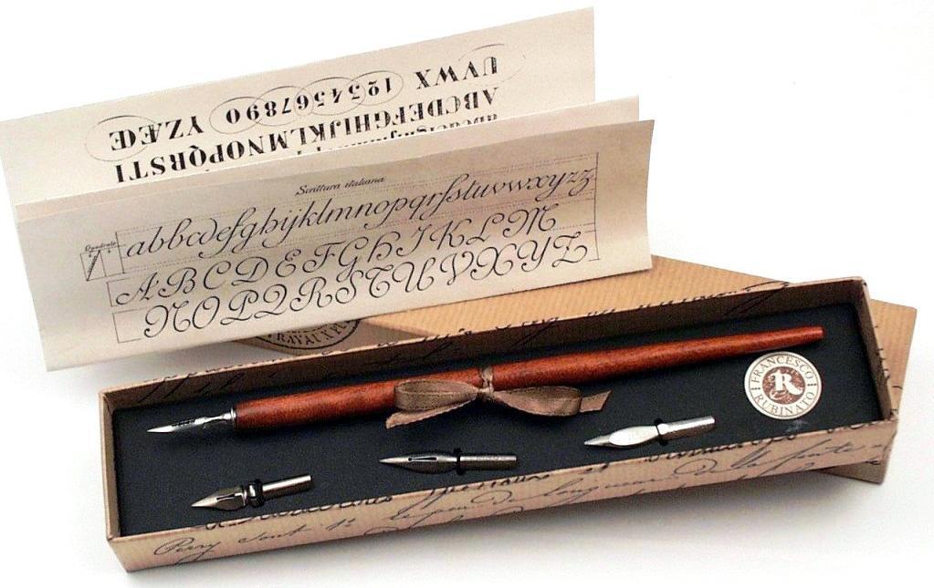 Πένα Κονδυλοφόρος στυλ αντίκα FRANCESCO RUBINATO 422