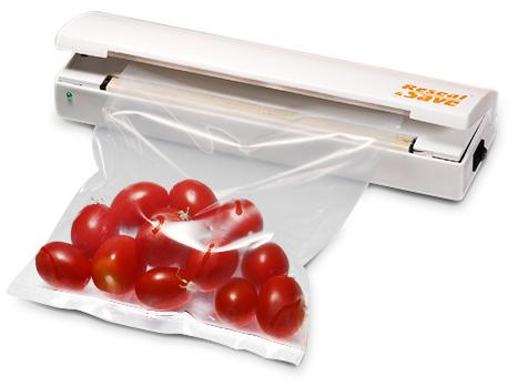 Συσκευή Αεροστεγούς Σφραγίσματος Τροφίμων για κάθε πλαστική σακούλα - Reseal & Save