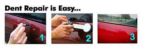 Σύστημα επιδιόρθωσης χτυπημάτων και βαθουλωμάτων αυτοκίνητου Pops-A-Dent