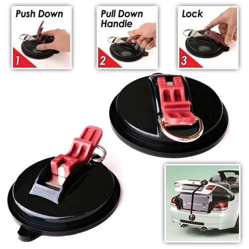 Βεντούζες Δεσίματος Ασφαλείας για το Αυτοκίνητο Suction Anchor Plus