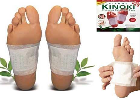 Επιθέματα αποτοξίνωσης 10 τεμ. detox foot pads kinoki