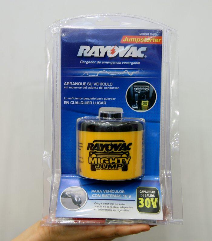 Εκκινητής μπαταρίας αυτοκινήτου η σκάφους επαναφορτιζόμενος RAYOVAC MIGHTY JUMP OEM