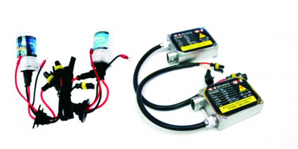 Φώτα XENON H4-3 AC αυτοκινήτου 35-55W πλήρες κιτ H.I.D. 6000k (Λευκό φως)