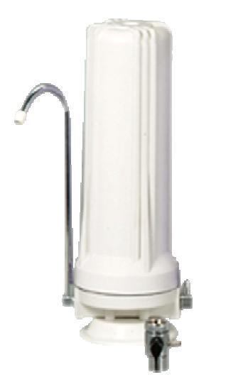 Φίλτρο Νερού άνθρακα πάγκου κουζίνας με βρυσάκι  W1W