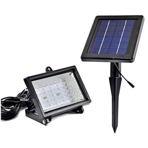 Ηλιακός Προβολέας 30 LED SOLAR ΗΜ 21030