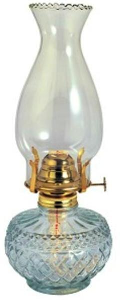 Η Λάμπα Πετρελαίου Γυάλινη Τύπου Αντίκα OSCAR M399