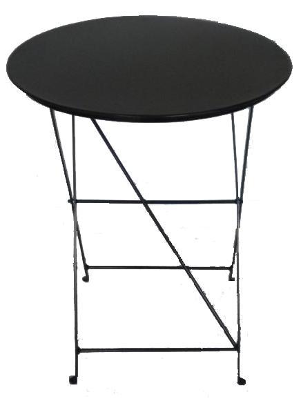 Τραπέζι καφενείου μεταλλικό σπαστό Φ 0,60 cm 45 X 65 ηλεκτροστατικής βαφής Ελληνική Κατασκευής nardimaestral