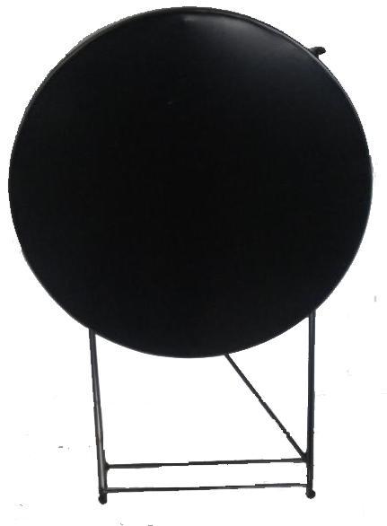Τραπέζι καφενείου μεταλλικό σπαστό Φ 0,60 cm 55 X 75 ηλεκτροστατικής βαφής Ελληνική Κατασκευής nardimaestral