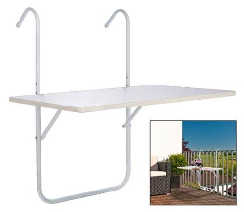 Τραπέζι μπαλκονιού κρεμαστό WERSALIT με σκελετό αλουμινίου 40Χ60 cm Ισπανικής κατασκευής Nardimaestral
