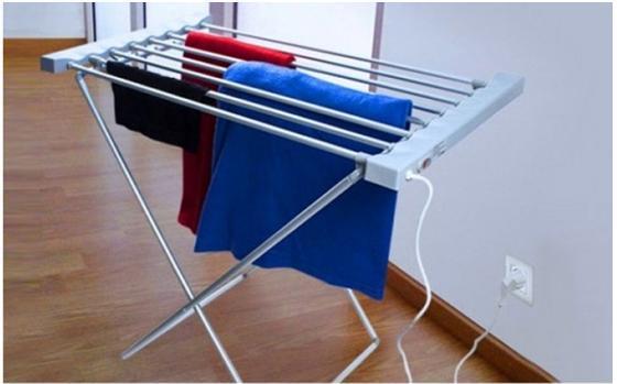 Απλώστρα Ρούχων Θερμαινόμενη