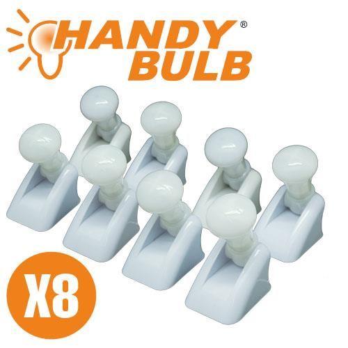 Ασύρματη κινητή λάμπα Led 8 τεμαχίων Handy Bulb